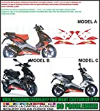 Emanuel & Co Kit adesivi decal stickers APRILIA SR 50 R (Geben Sie MODEL A oder B oder C)