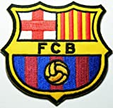FCB Barcelona Espagne Fc Patches English London Soccer Football Club Fc Embroidered Iron on Patch