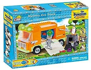 Dreamworks - Mystery Zoo Truck, camión, color rojo (COBI 26301)