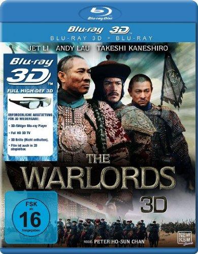 Bild von The Warlords 3D (3D Version inkl. 2D Version & 3D Lenticular Card)[3D Blu-ray]