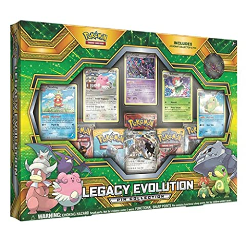 Pokemon 290-80304 Legacy Evolution Pin Collection
