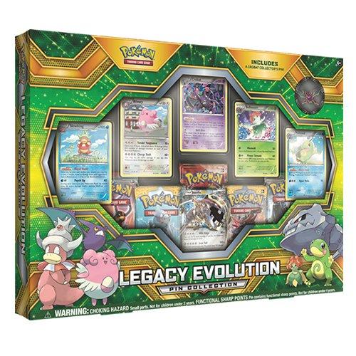 Pokémon 290-80304 Legacy Evolution Pin Collection-Englisch