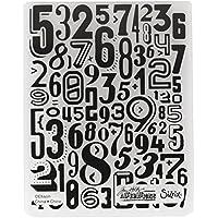 Sizzix 661827tfef–numerik de Tim Holtz, Plastic, Multicolor, 17.5x 12.4x 0.5cm