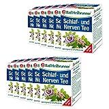 Bad Heilbrunner® Schlaf- und Nerven Tee - 12er Pack