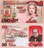 Gibraltar - 2006 £50 Sammlerbanknoten (Unzirkuliert)