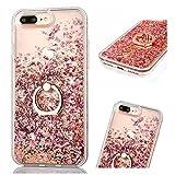 ZCRO Coque pour iPhone 8 Plus/iPhone 7 Plus (Pas pour 8/7), Liquide Étui Coque Case...