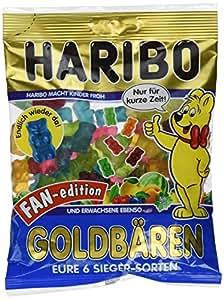 Haribo Fan Edition Goldbären in sechs neuen Richtungen (3x200g Beutel)