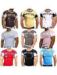 T-Shirt 613 Rusty Neal Rundhals Kurzarm Herren