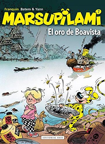 El oro de Boavista (Marsupilami)