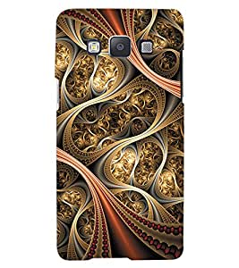 ColourCraft Beautiful Pattern Design Back Case Cover for SAMSUNG GALAXY A7