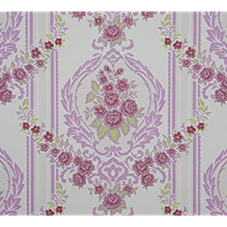 Dutch Wallcoverings 6850-6 Ornament Wallpaper - Pink