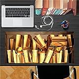 Gold Bullion Storage PAG AUTOCOLLANT 3D bureau Autocollant Stickers muraux Accueil bureau DŽcor de table...