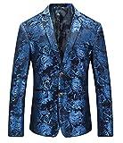 MOGU Royal Blue Blazer Männer DE 50 (Asian 3XL)