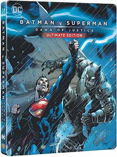 BATMAN V SUPERMAN : L'AUBE DE LA JUSTICE - BLU-RAY - EDITION LIMITEE STEELBOOK - DC COMICS [Blu-ray]