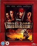Fluch der Karibik (Pirates of the Caribbean - The Curse of the Black Pearl) - Exclusive Limited Edition Steelbook (Import MIT deutschem Ton) [Blu-ray]