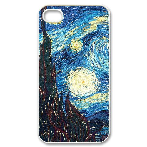 LP-LG Phone Case Of Van Gogh For Iphone 4/4s [Pattern-6] Pattern-6