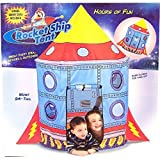 Kids Rocket Ship Tent Childrens Indoor /...
