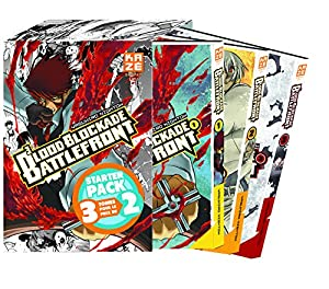 Blood Blockade Battlefront Starter Pack Tomes 1 à 3