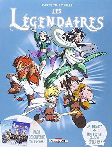 Les Légendaires - Fourreau T1+T2