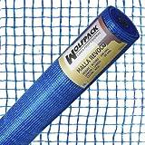 Wolfpack 1202100 Malla revoco (50 x 1 m/10 x 10 mm) color azul