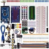 Kuman K21 Mega 2560 R3 Project Super Starter Kit For Arduino UNO R3 Mega2560 Mega328 Nano (with mega 2560)