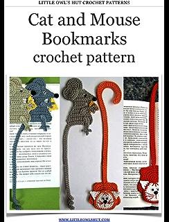 Amigurumi Crochet Rat Bookmark (With images) | Crochet bookmark ... | 320x244