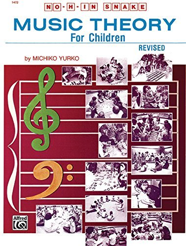 No H in Snake: Music Theory for Children (1472) (English Edition)