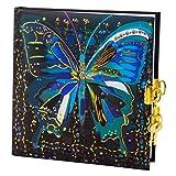 goldbuch Tagebuch Flower Butterfly, 165 x 165 mm