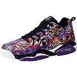 Bluestercool Uomo Scarpe Running Sneakers Sportive da Uomo Outdoor Moda Pallacanestro Casual Top-Top Sneakers