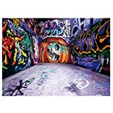 TOOGOO(R) 5X3ft Street Graffiti Vinyl Photography Backdrop Photo Background Studio Prop Wall Decor Color: 7