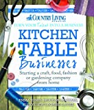 Kitchen Table Businesses (FREE TASTER): Starting a craft, food, fashion or gardening company from home