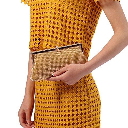 Ali Vittoria, Damen Clutch Small Gold