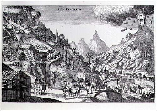 fine-art-print-of-guatemala-in-spanish-north-america-from-gage-s-voyages