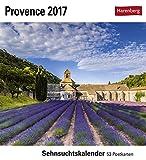 Provence - Kalender 2017: Sehnsuchtskalender, 53 Postkarten