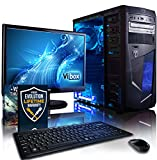 Vibox VBX-PC-1528 Centre Paket 10 54,6 cm (21,5 Zoll) Gaming Desktop-PC (AMD A Series A4-6300, 8GB RAM, 1TB HDD, AMD Radeon HD 8370D, kein Betriebssystem) blau