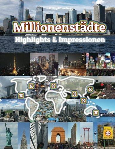 Millionenstädte Highlights & Impressionen: Original Wimmelfotoheft mit Wimmelfoto-Suchspiel