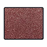 ASKSSD Tappetino per Mouse Mouse Pad Rose Gold Rectangle Non-Slip 9.8in11.8 in Unique Designs Gaming Rubber Mousepad Stitched Edges Mouse Mat