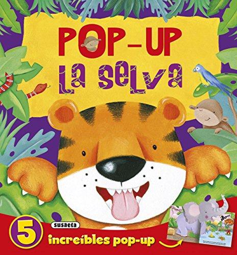 Pop-up la selva (Cabeza pop-up) por Susaeta Ediciones S A
