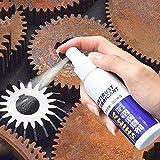 lzndeal Rust Remover Stain Remover Dispositivo di rimozione della ruggine di Pulizia della Polvere del Ferro di Manutenzione dell'automobile della Vernice di Cromo della Superficie di Metallo