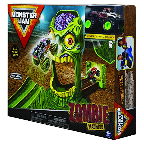 Unbekannt Monster Jam 6045029 MonsterJam-6045029-Spielset Sortiement mit Monstertruck aus Druckguss 1:64 (Variante Wird zufällig ausgewählt), Multicolour
