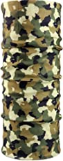 iSweven Unisex Army Pattern Design 13 in 1 Multifunctional Headwrap/Bandana
