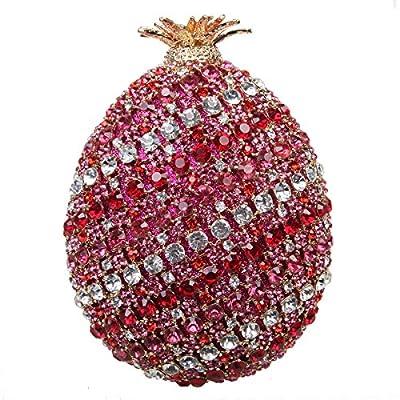 Bonjanvye Pineapple Womens Purses Handbags For Women Evening Clutch