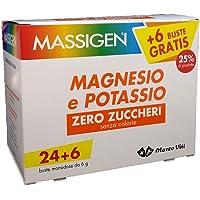 Massigen Magnesio e Potassio Zero Zuccheri 24 Buste + 6 Om