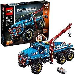 Lego Technic Camion Autogrù 6x6, 42070