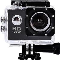 Mugast HD Azione Camera DV, 2 Pollici Videocamera DV Impermeabile da Esterno di Alta Definizione con Angolo di 140 Gradi…