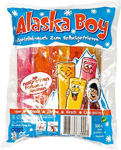 Alaska Boy - Icesticks Kaltgetränk oder Wassereis - 10St/500ml