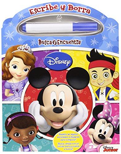 Disney Junior. Pintar Y Borrar