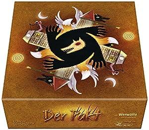 El Meme 002361 - Hombres Lobo de Düsterwald, Juego de Cartas Alemán