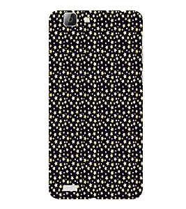 ifasho Designer Phone Back Case Cover Vivo V1 ( Dog Man in Coat In Handsome look Cute dog )