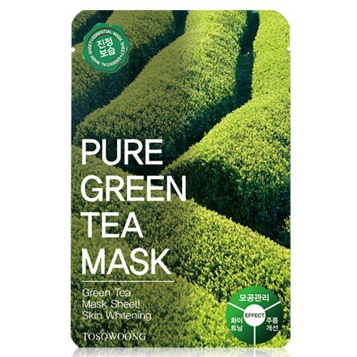 t 10PCS/Mask pack/Essence Facial Mask/Mask Sheet/Aloe/Blueberry/Green tea/Snail/Deep sea water/Propolis (Propolis) by TOSOWOONG ()